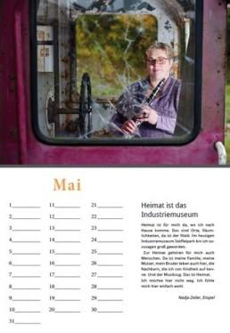 Kalender Alpenrod Mai