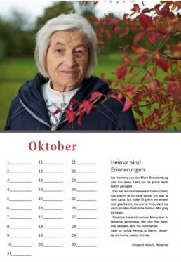 Kalender Alpenrod Oktober