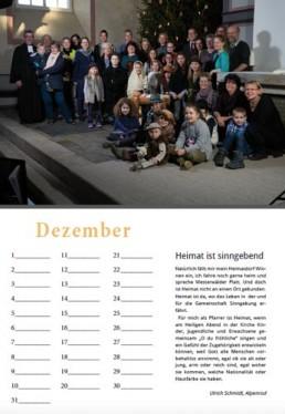 Kalender Alpenrod Dezember
