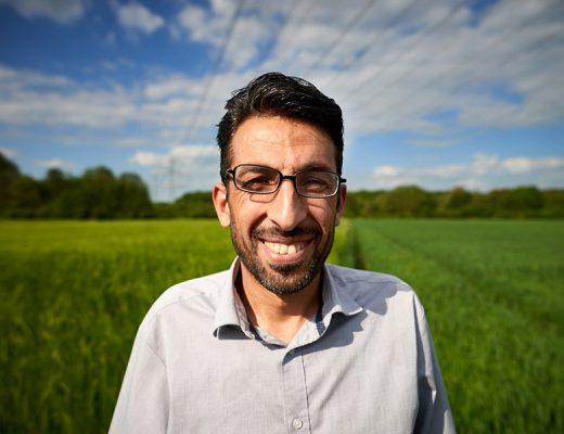 Prof. Hussein Almohamad, Universität Giessen, stammt aus Syrien