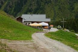 Taschach-Alm Pitztal Österreich